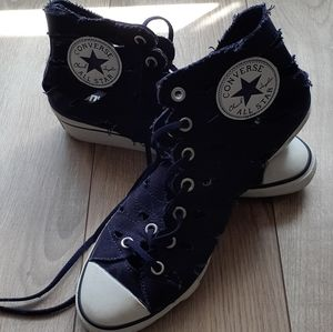 Converse All Star Wedge Cutout Sneakers